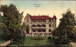 Postcard Bad Windsheim in Mittelfranken Bayern, Blick auf das Kurhaus, Garten, Bäume