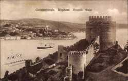 Postcard Konstantinopel Istanbul Türkei, Bosphore, Rouméli Hissar