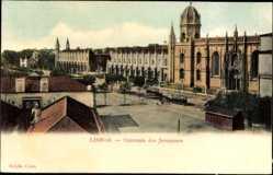 Postcard Lisboa Lissabon Portugal, Convento dos Jeronymos
