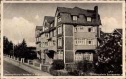 Postcard Neuhaus Rennweg, Erholungsheim Leunawerke, Höhenluftkurort