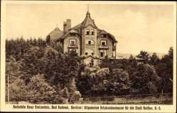 Ak Bad Kudowa Schlesien, Heilstätte Haus Stolzenfels