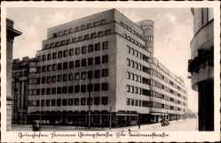 Ak Gdynia Gotenhafen Pommern, Hermann Göring Straße, Ecke Teutonenstraße
