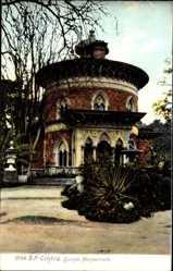 Postcard Cintra Sintra Portugal, Quinta Monserrate, Eingang