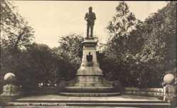 Postcard Göteborg Schweden, John Ericssons Staty, Statue