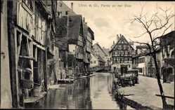 Postcard Ulm an der Donau Baden Württemberg, Partie an der Blau