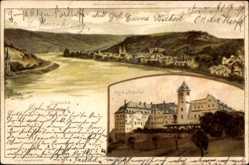 Künstler Litho Biese, C., Boppard im Rhein Hunsrück Kreis, Marienberg