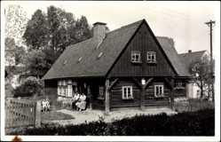 Foto Ak Sohland an der Spree, Blick auf das Heimathaus