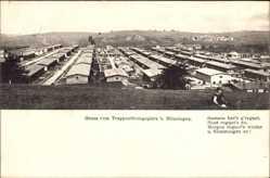 Postcard Münsingen in Baden Württemberg, Truppenübungsplatz, spielendes Kind