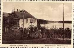 Postcard Lychen im Kreis Uckermark, Markgrafenbusch mit Oberpfuhlsee