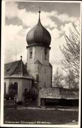 Postcard Hinterzarten im Südschwarzwald, Kirche Maria in der Zarten
