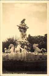 Postcard Buenos Aires Argentinien, Fuente Lola Mora, Brunnengruppe