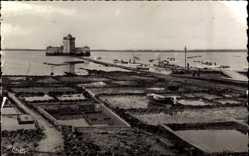 Ak Le Chapus Charente Maritime, Fort et les Parcs à huîtres, Muschelbecken