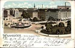 Litho Hannover in Niedersachsen, Hotel Bristol am Ernst August Platz