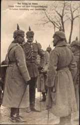 Ak Tschernjachowsk Insterburg Ostpreußen, Kaiser Wilhelm II., Kriegsschauplatz