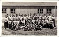 Foto Ak Boćwinka Bodschwingken Gołdap Ostpreußen, Reichsarbeitsdienst