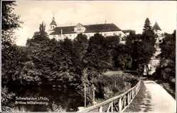 Postcard Schmalkalden im Thüringer Wald, Blick auf Schloss Wilhelmsburg