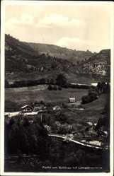 Postcard Schönau im Schwarzwald, Panorama mit Lehrerinnenheim