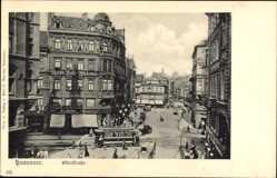 Postcard Hannover in Niedersachsen, Osterstraße, Straßenbahn, Nordd. Betl. Akademie