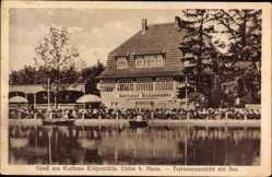 Postcard Uetze Niedersachsen, Kurhaus Kötjemühle, Inh. Hans Kasprzewski