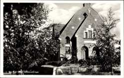 Postcard Oxelösund Schweden, Sjömanskyrkan, Ansicht der Kirche