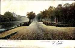 Postcard 's Gravenhage Den Haag Südholland, Herfststemming a.h. Kanaal