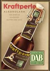 Reklame Ak Kraftperle Alkoholarm, Mutter und Kind, Bier Reklame