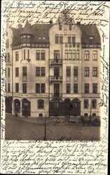 Foto Ak Hannover in Niedersachsen, Blick auf ein Wohn und Geschäftshaus, Tabak