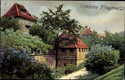 Ak Nürnberg in Mittelfranken Bayern, Photochromie, Nenke und Ostermaier 1915