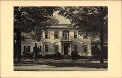 Postcard Abdover Massachusetts USA, Phillips Academy, Hochschule