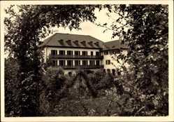 Postcard Bad Liebenstein im Wartburgkreis, Blick auf Haus Else, Karl Pauk, Balkone