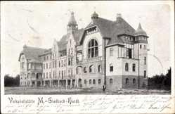 Postcard Hardt Mönchengladbach im Ruhrgebiet, Blick auf die Volksheilstätte