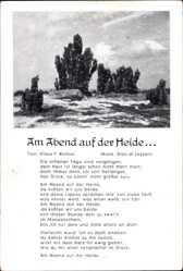 Lied Ak Am Abend auf der Heide, Klaus F. Richter, Eldo di Lazzaro