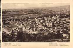 Postcard Bethanien Palästina, Gesamtansicht der Ortschaft