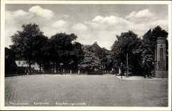 Postcard Neumünster in Schleswig Holstein, Karlstraße, Rendsburgerstraße