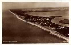 Ak Dziwnów Ostseebad Dievenow Pommern, Fliegeraufnahme, Küste