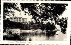 Postcard Laurana Lovran Kroatien, Hotel Laurana, Bagni