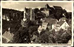 Ak Hohnstein in der Sächsischen Schweiz, Stadtansicht, Wald, Hahn 3218