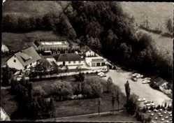 Postcard Hellendorf Wedemark, Hotel Garni, Inh. W. Foellmer, Bundesstraße 190