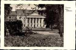 Postcard Dessau in Sachsen Anhalt, Blick auf das ehemalige Hoftheater