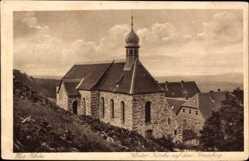Postcard Bischofsheim an der Rhön in Unterfranken, Kloster Kirche auf dem Kreuzberg