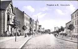 Ak Trzebiatów Treptow Rega Pommern, Blick in die Kaiserstraße