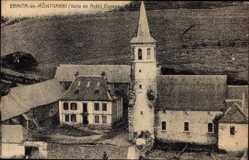 Postcard Ermita de Montgarri Valle de Aran Katalonien, Ansicht der Kirche