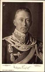 Ak Kronprinz Wilhelm von Preussen, Portrait, Uniform, Liersch