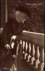 Ak Kaiserin Auguste Viktoria, Haus Doorn, Rollstuhl, Liersch 7952