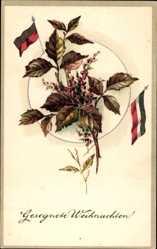 Postcard Glückwunsch Weihnachten, Kaiserreich, Patriotik