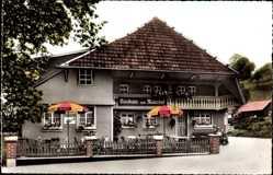 Postcard Wembach im Schwarzwald, Gasthaus zum Maierhof, Familie Otto Meier