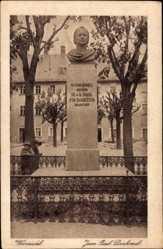 Postcard Wunsiedel im Tal der Röslau Oberfranken, Jean Paul Denkmal