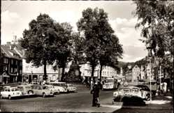 Postcard Biedenkopf an der Lahn, Blick auf den Marktplatz
