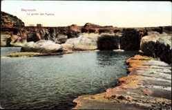 Postcard Beirut Beyrouth Libanon, vue générale de la Grotte des Pigeons
