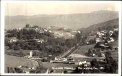 Foto Ak Hollywood Kalifornien USA, Hillside Homes, general view